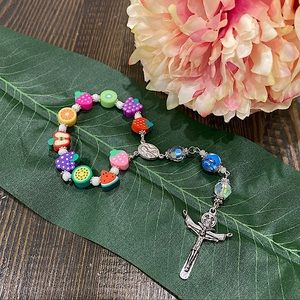 🎗FOR KIDS - Fruits bead Single Decade Rosary
